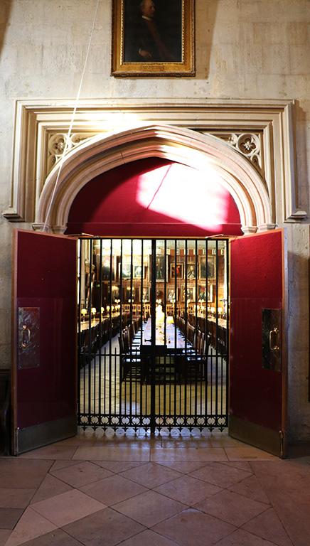 The Hall: Advent Doors 2018   Christ Church, Oxford University