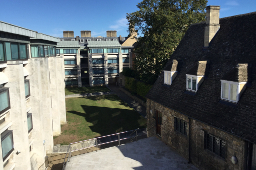 View of Blue Boar Quad