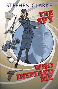 Book cover: The Spy Who Inspired Me