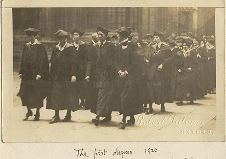 The first degrees, 1920