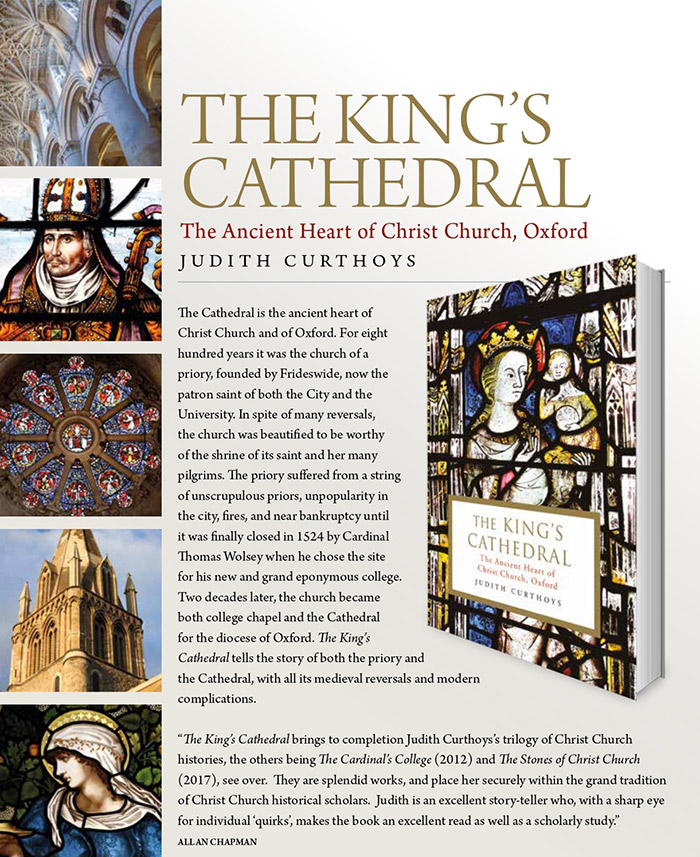Promotional information about The King's Cathedral