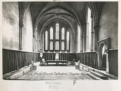 Postcard of the Chapter House, 1910