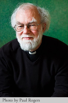 Portrait of Dr Rowan Williams. Photo by Paul Rogers.