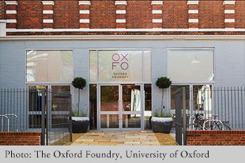 Photo: The Oxford Foundry, University of Oxford