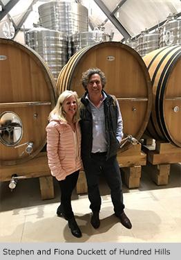 Stephen and Fiona Duckett