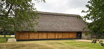The Thatched Barn, housing the shop