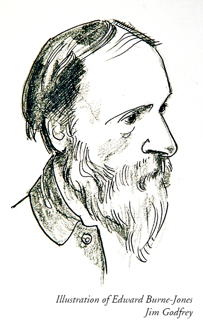 Illustration of Edward Burne-Jones