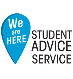 We Are Here - Student Advice Service logo