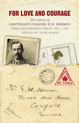 Book cover, For Love and Courage
