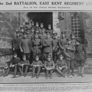 Officers of the 2nd Battalion East Kent Regiment. Source: The Sphere