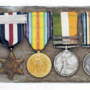 Medals awarded to Capt. Kirkpatrick