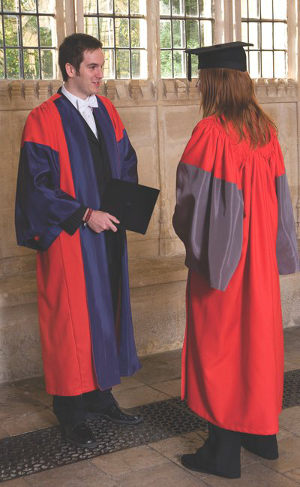 Academic Dress | Christ Church, Oxford University