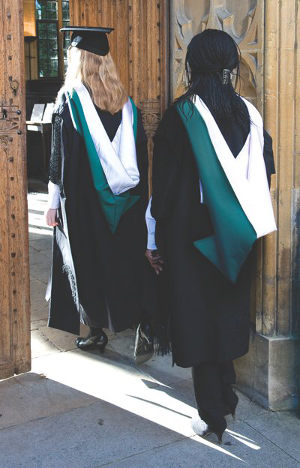 Academic Dress Christ Church Oxford University