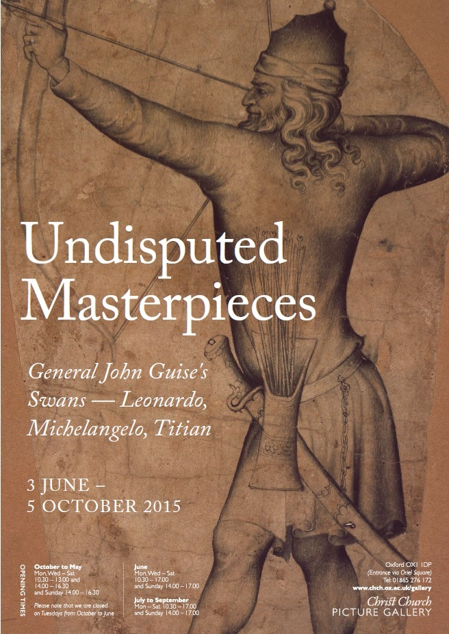 Undisputed Masterpieces Exhibition Poster - Embedded in Exhibitions Page