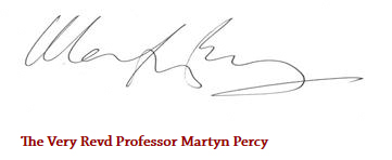 signature - Martyn Percy
