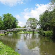 New bridge, Cherwell Path