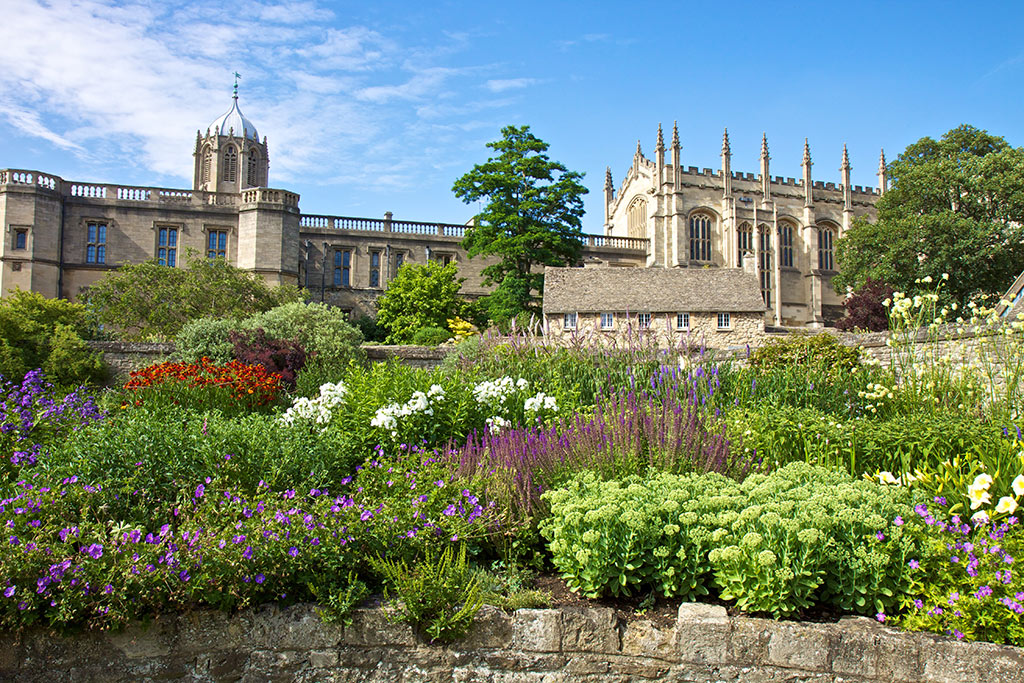 Memorial Gardens Christ Church Oxford University