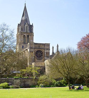 View of the Cathedral from the Masters Garden