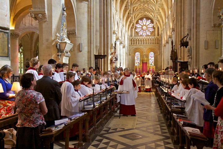 A service in the Cathedral with Christ Church Cathedral Choir