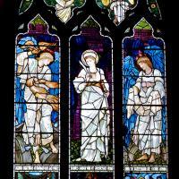 The St Catherine window by Edward Burne-Jones