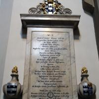 Monument commemorating John Fell in the Cathedral Ante Chapel