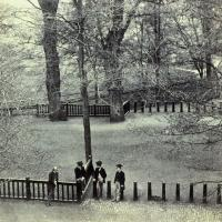 The Broad Walk, Oxford, June 1857. IN 213 (Princeton).