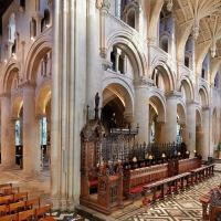 A wide view of the Cathedral interior