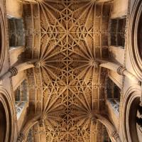The Chancel Ceiling, viewed from below