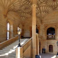 View up the Hall Stairs