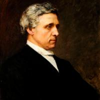 Portrait by Sir Herbert von Herkomer, Charles Lutwidge Dodgson (LP 285). By permission of the Governing Body of Christ Church, Oxford.