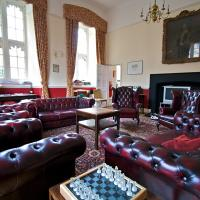 The Graduate Common Room in the north-west corner of Tom Quad; formerly Charles Dodgson's rooms