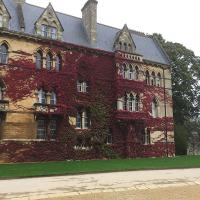 The Virginia Creeper on Meadow Building must be the backdrop of countless thousands of tourist photos.