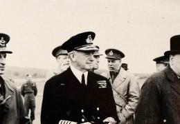 Group of military leaders WW2