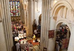 Cathedral service