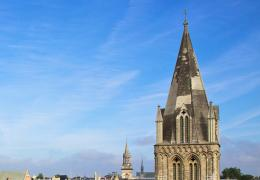 Bodley Tower and the Cathedral Spire