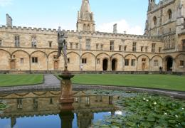 Tom Quad and the Mercury fountain