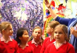 Pupils from Rye St Antony School, Oxford featured in the video report