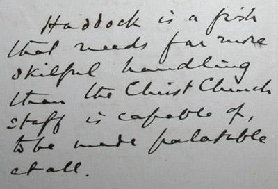 Detail from Christ Church Archives S xxxiii.c.1