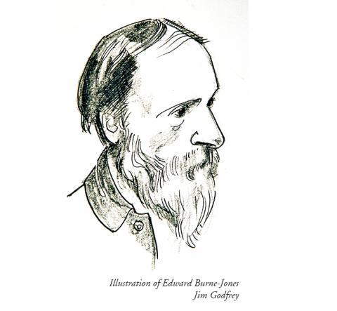 Illustration of Edward Burne-Jones