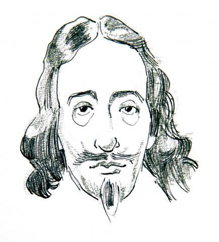 Pen Portrait of Charles I by Jim Godfrey