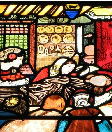 Panel from the Frideswide Window