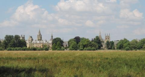 View of Christ Church from the Meadow