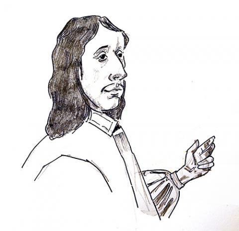 Illustration of John Fell by Jim Godfrey