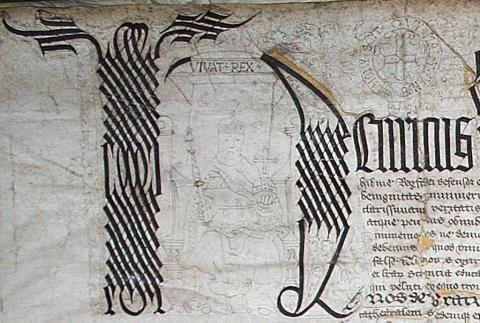 Detail from Christ Church Archives, DP vi.c.1