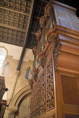 Image of the Organ Case
