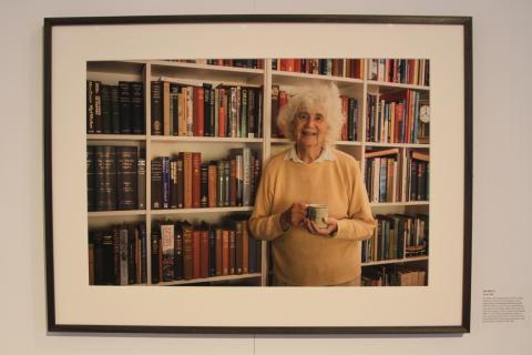 The portrait of Jan Morris