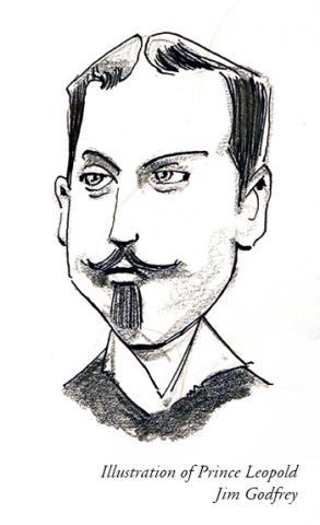 Illustration of Prince Leopold by Jim Godfrey