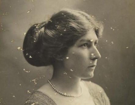 Portrait of Violet Moberly, courtesy of the Imperial War Museum
