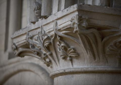 image of capital carving