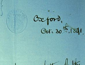 Detail from Christ Church Archives, S xxxii.c.1